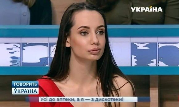 """Представитель модельного агентства Diamond Models на шоу """"Говорить Україна"""" ра"""