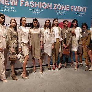 Выпускники агентства Diamond Models на показе New Fashion Zone
