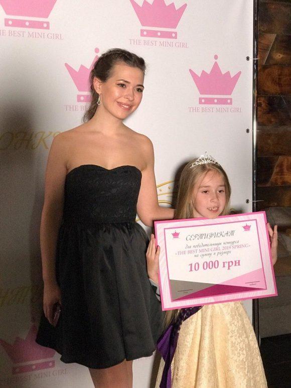 Модельное агентство Diamond Models спонсор детского конкурса красоты